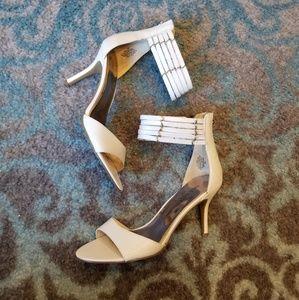 BRAND NEW White Nine West Heels